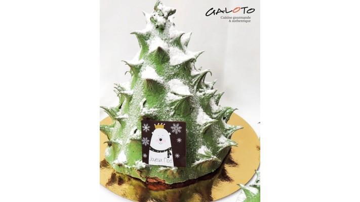 Sapin de Noël (6 portion)
